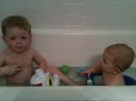 T & J bath, baby bathseat